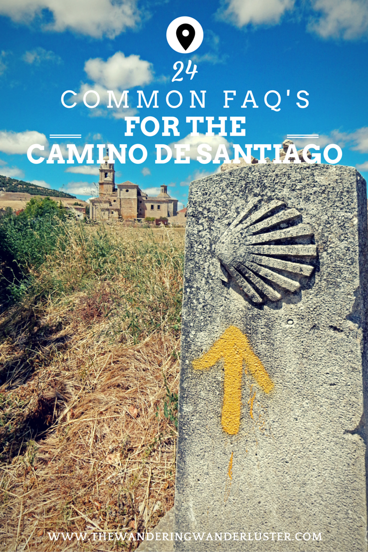Pinterest FAQs on The Camino de Santiago