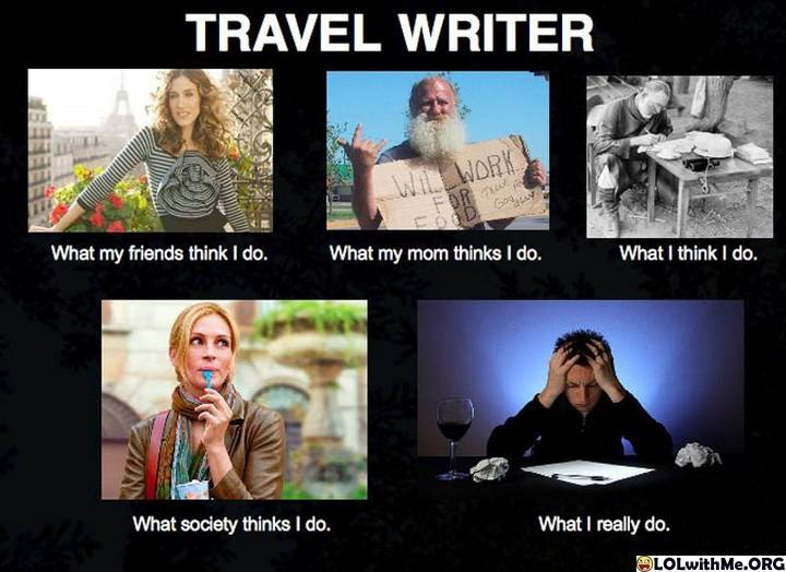 Travel Writers Job
