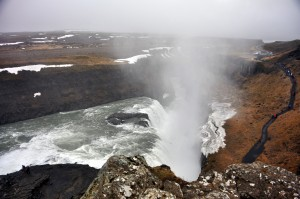 Gulfoss Waterfall Iceland, Golden Circle Tour