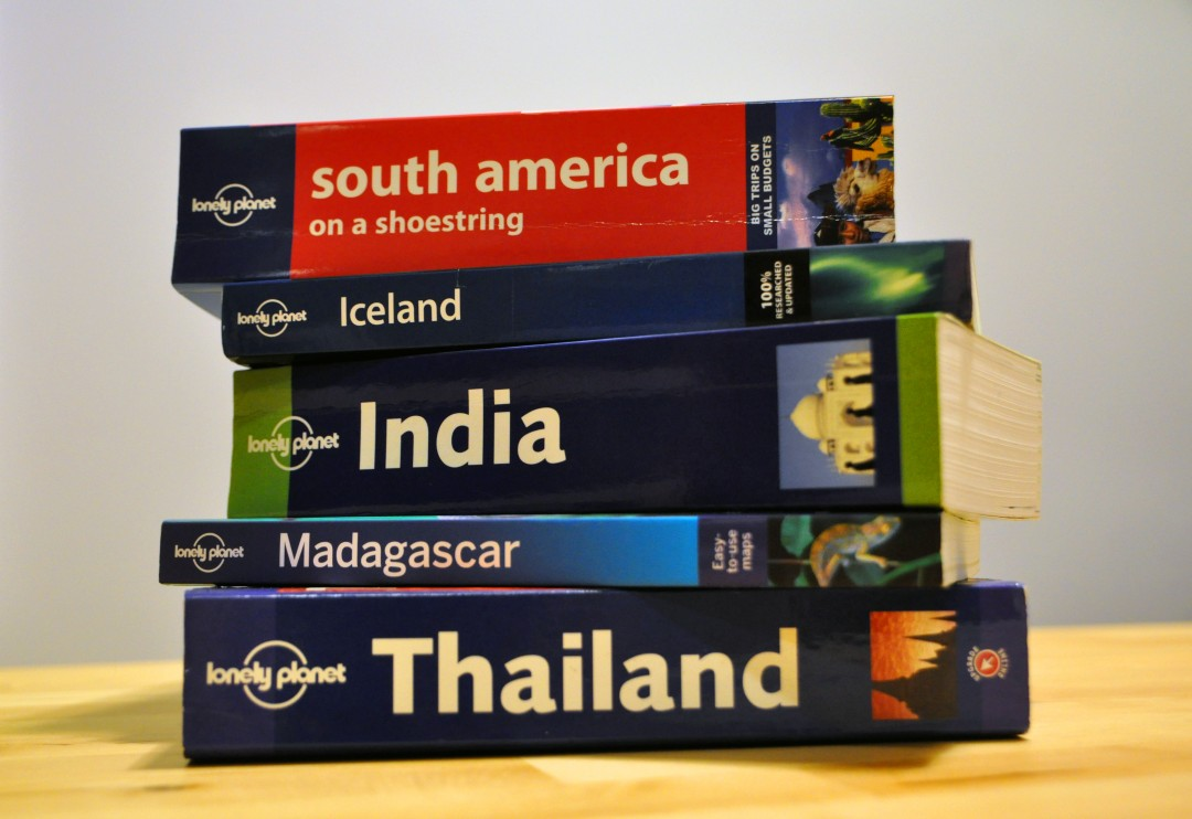 Lonely Planet Stacked Travel Guides