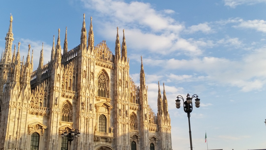 Milan's Duomo Cathedral Italy