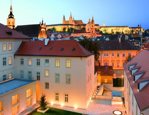 Mandarin Oriental Prague by Night