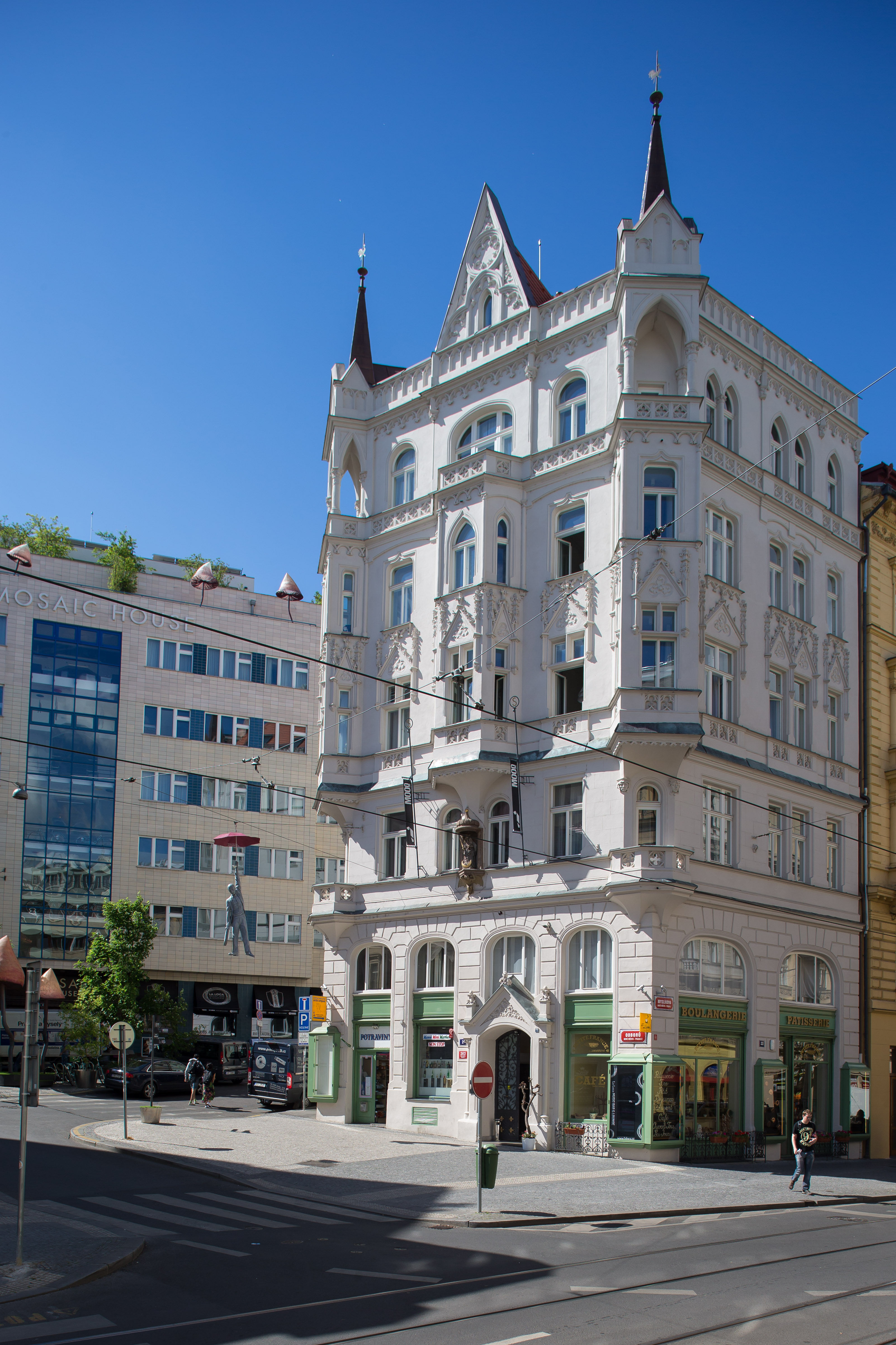 MOOo Apartments in Prague Art Nouveau Exterior