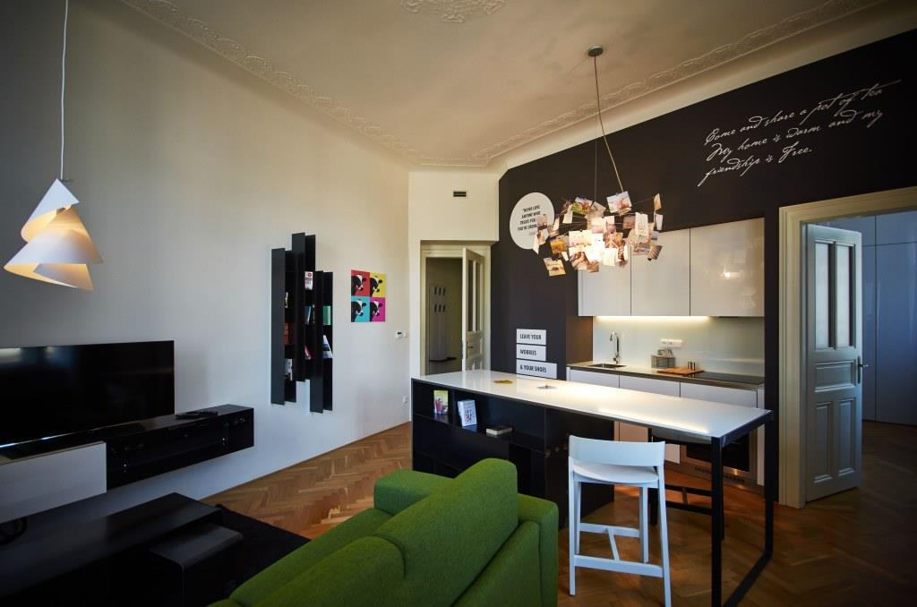 MOOo One Bedroom Luxury Apartment Prague Czech Republic
