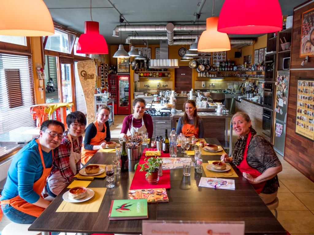 Chef Parade cooking class in Budapest