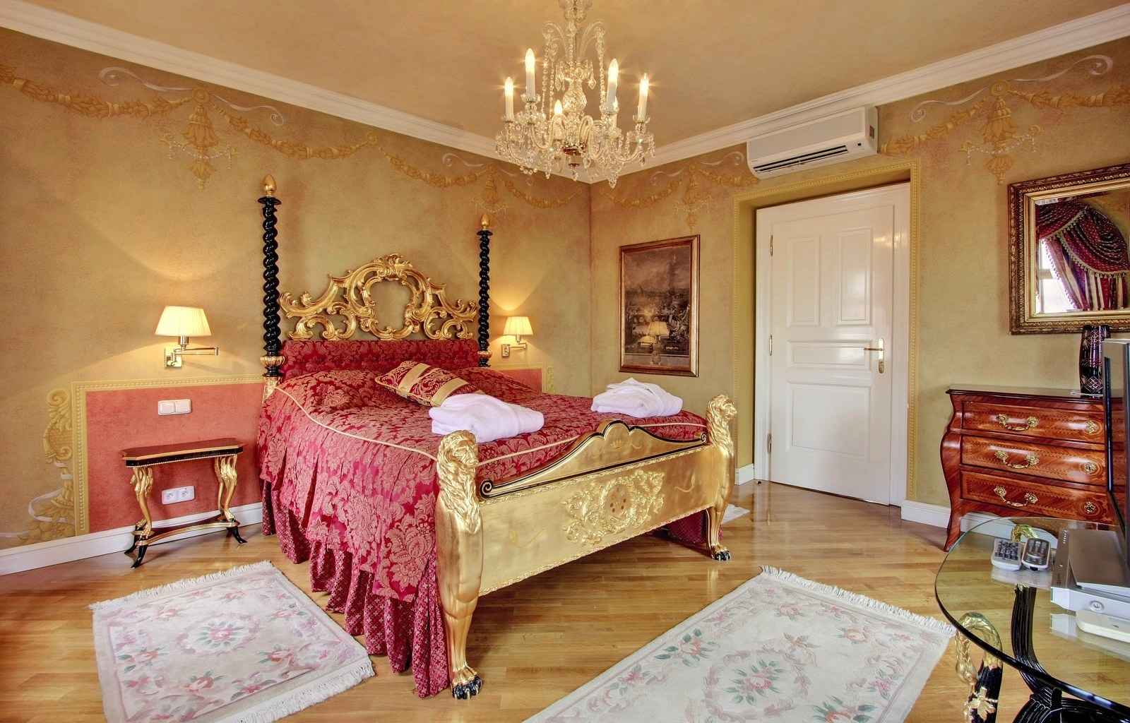 Imperial Suite at the Alchymist Grand Hotel Prague