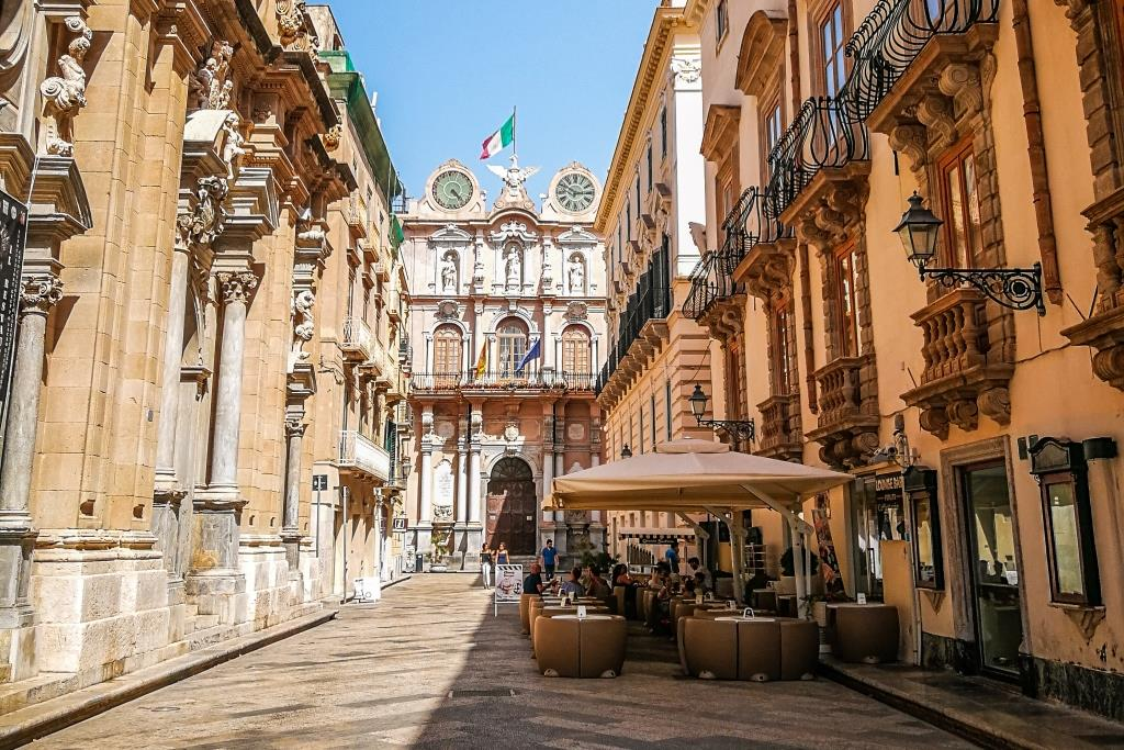 Trapani City Center Western Sicily