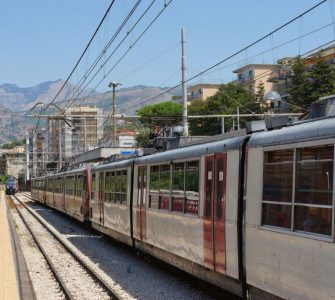 Circumvesuviana Train Naples to Sorrento