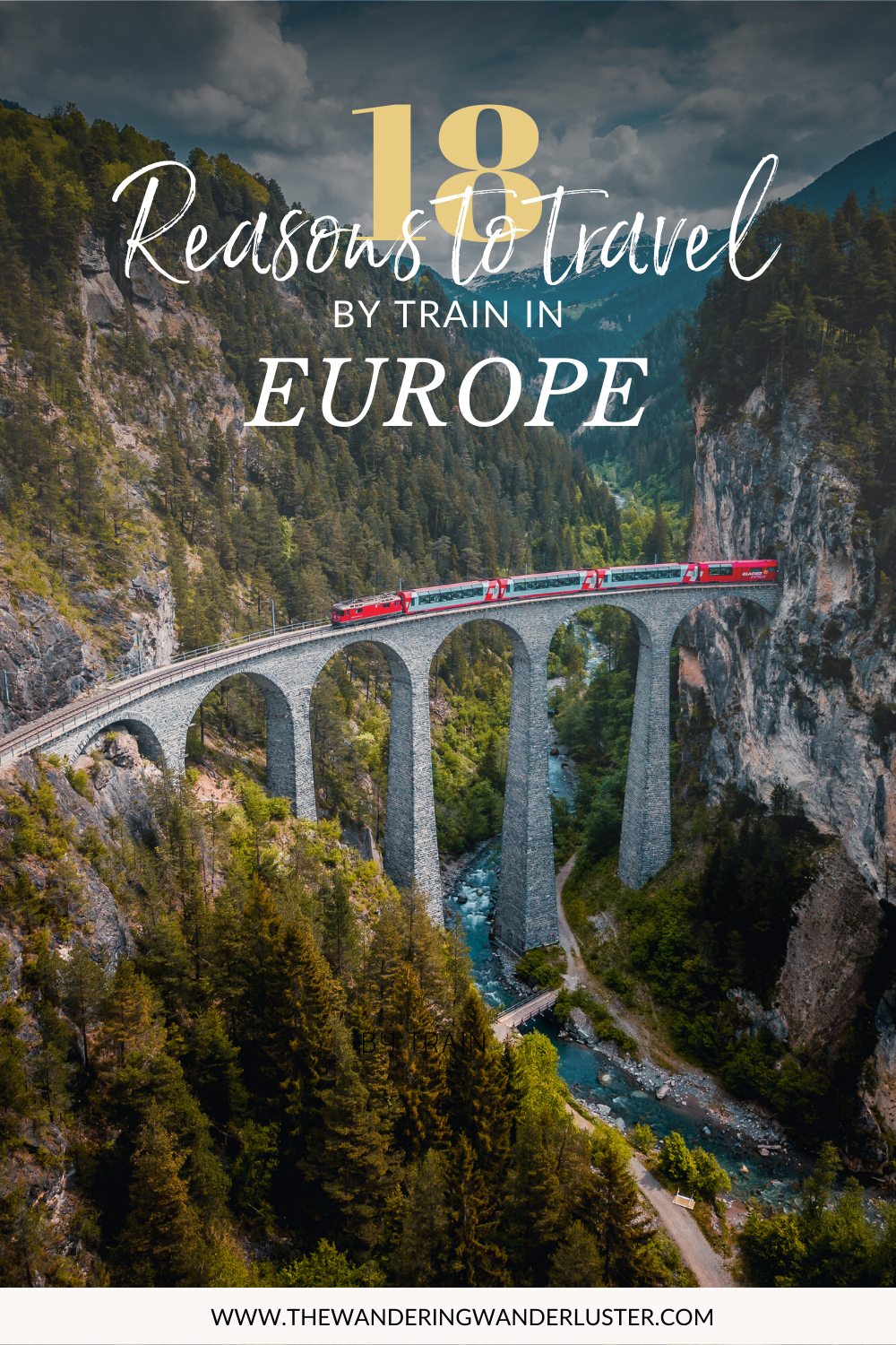 18 Reasons to travel by train in Europe | Travel by train in Europe | Train Travel in Europe | How to travel in Europe |