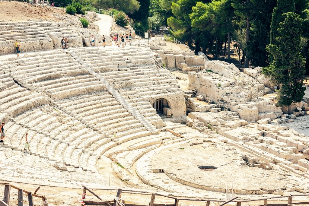 Greek Theatre of Syracuse (Siracusa)