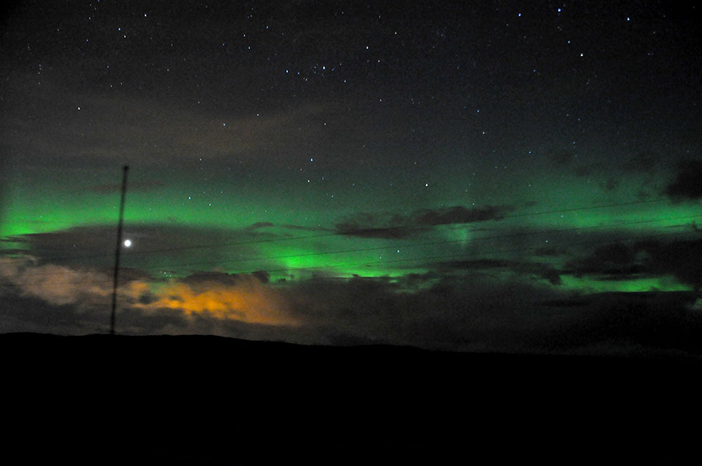 The Scarlet Pimpernel of Mother Nature…The Northern Lights
