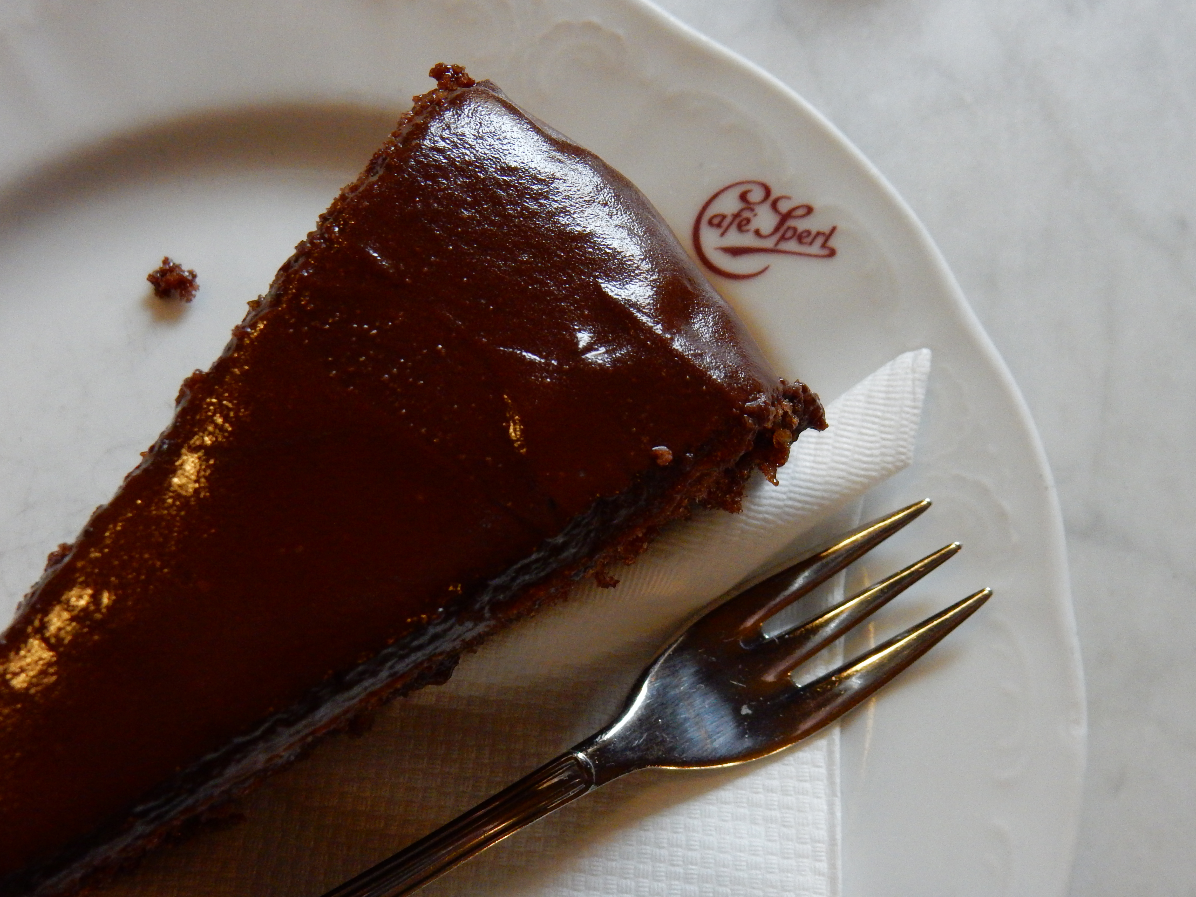 Cafe Sperl Vienna Sacher Torte