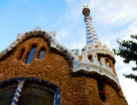 Park Guell Gaudi House Barcelona © Samantha Hussey The Wandering Wanderluster