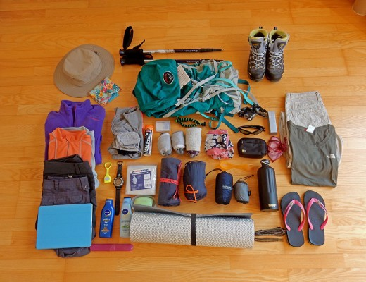 Packing for the Camino de Santiago
