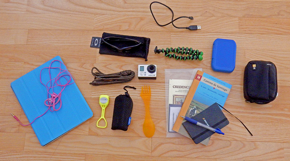 What To Pack For The Camino De Santiago Extra Items