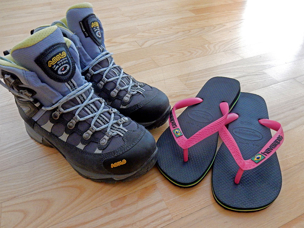 Footwear What To Pack For The Camino De Santiago