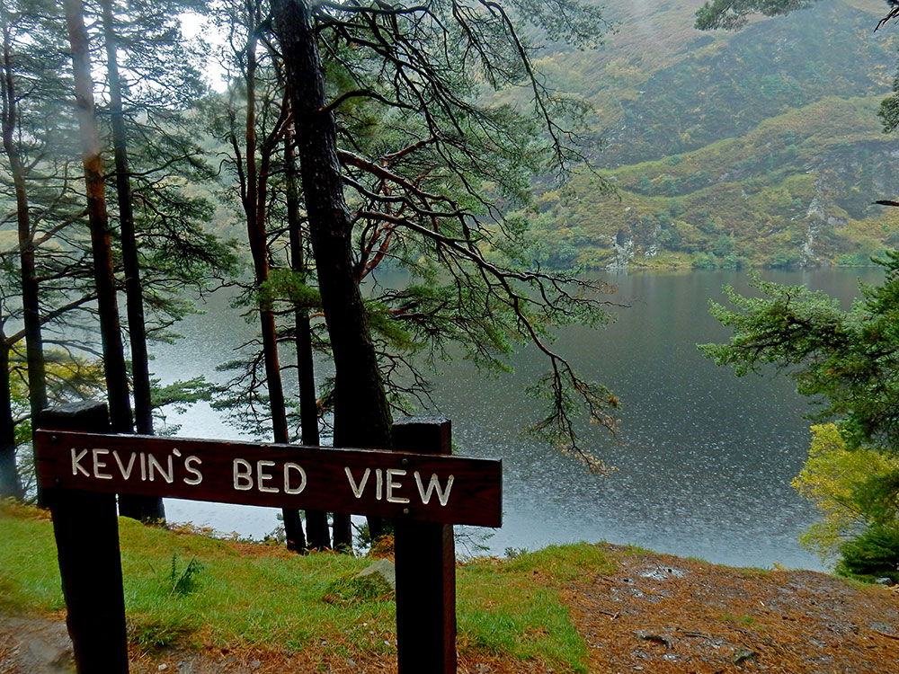 St Kevins Bed Glendalough Wicklow Ireland