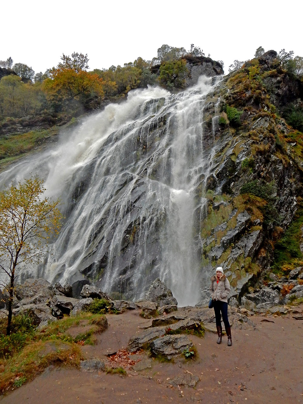 Powerscourt Waterfall Wicklow Ireland