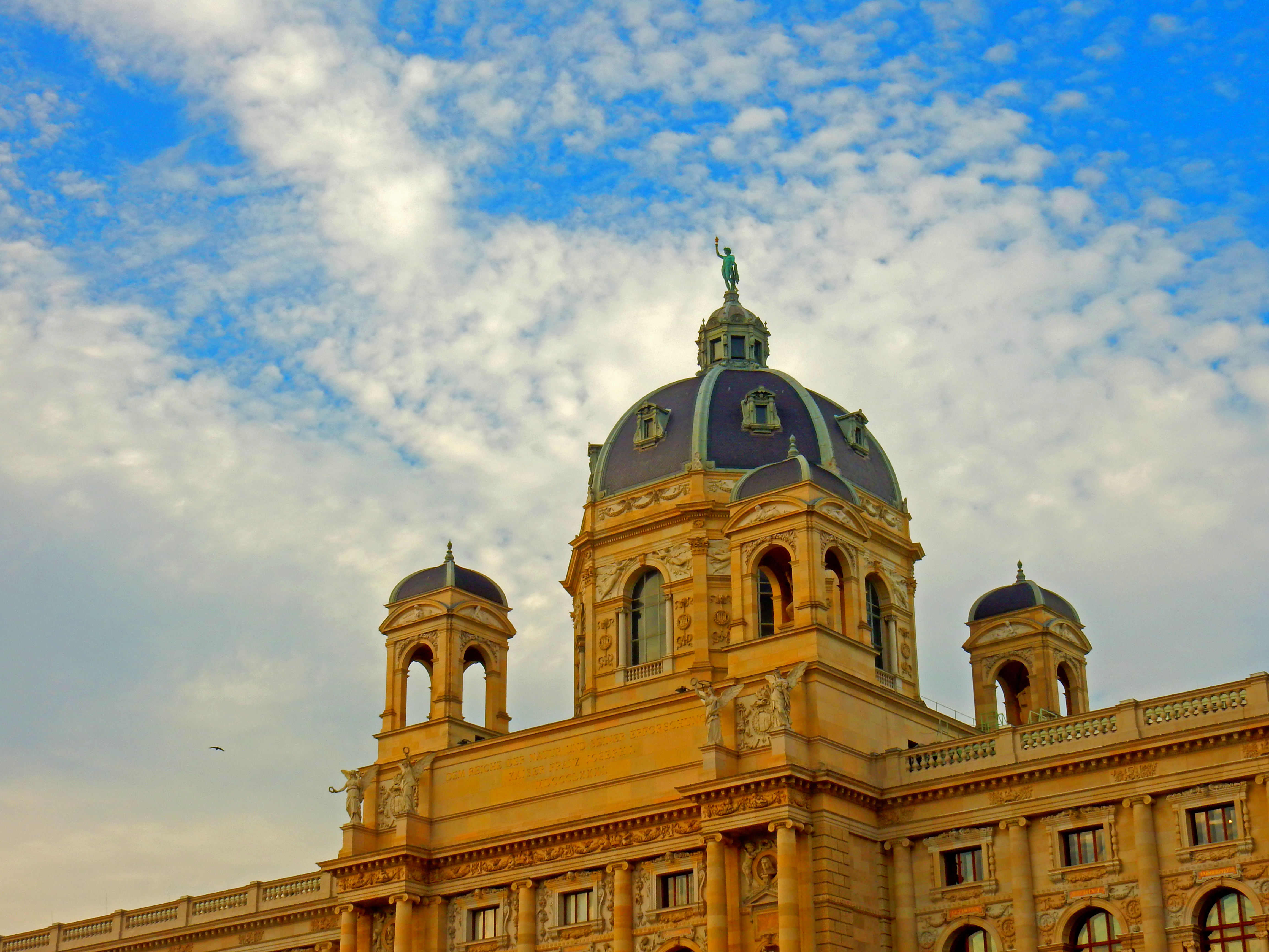 Top Things To Do In Vienna - Vistit A Museum Or Two - Exterior of the Museum of Fine Art and Natural History Museum Vienna Austria