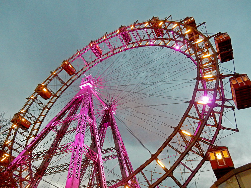 Top Things To Do In Vienna - Ride the Giant Ferris Wheel Prater in Vienna Austria