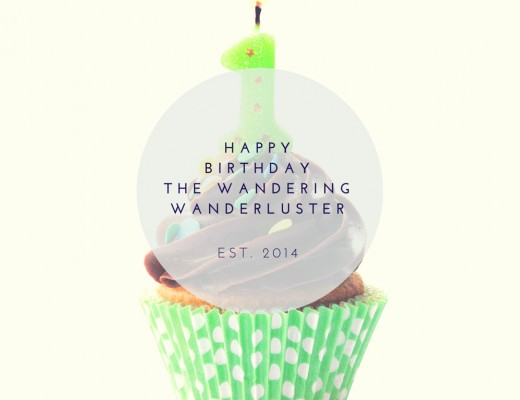 Happy Birthday The Wandering Wanderluster