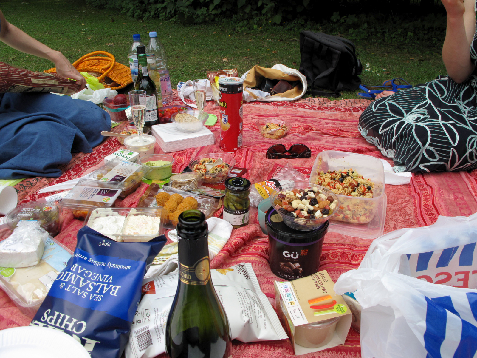 Picnic in the Park Vysehrad Prague © Samantha Hussey The Wandering Wanderluster