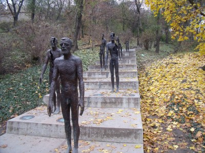 Olbram Zoubek - The Broken Men Statues at the foot of Petrin Hill in Prague