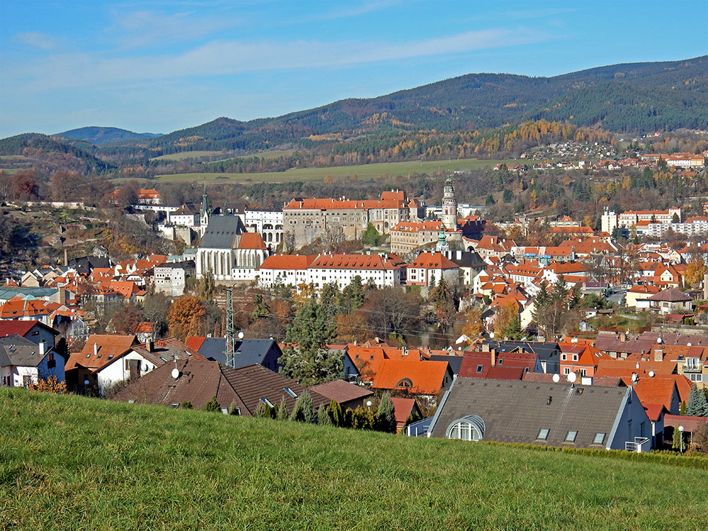 Self-Guided-Cross-Hike-Cesky Krumlov