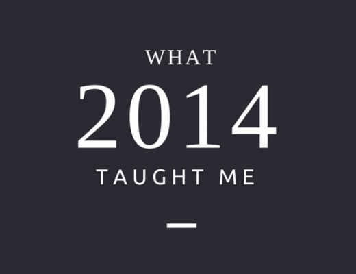 What 2014 taught me