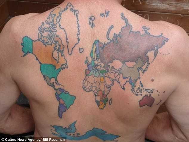 Interview with the man with the world's most iconic tattoo!
