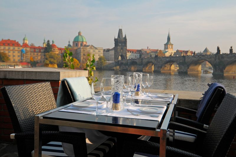 kampa park restaurant prague