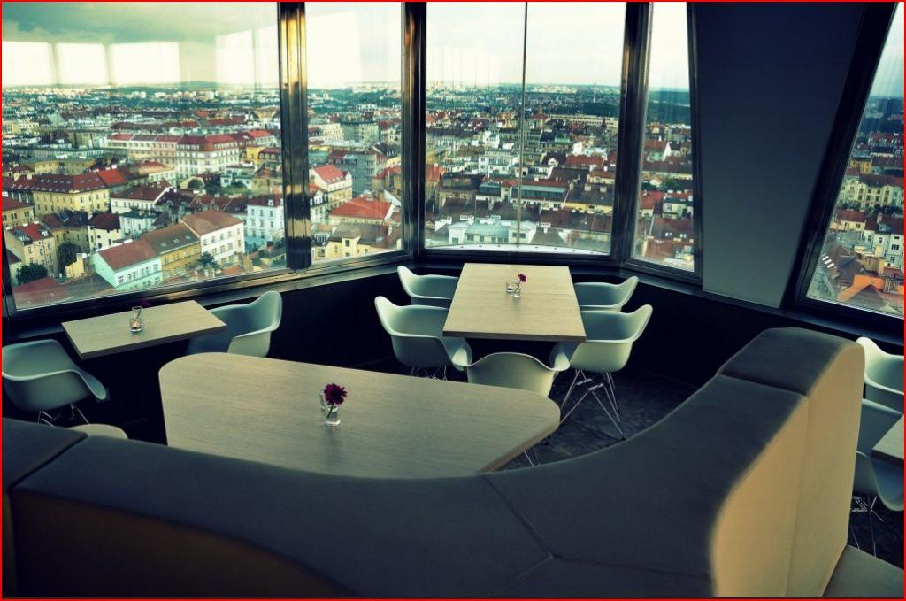 Prague 39 s top 10 bars and restaurants with a view for Bar food zizkov